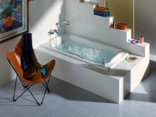 Чугунная ванна Roca с гидромассажем