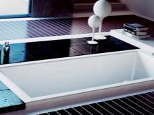 Готовая интегрированная ванна