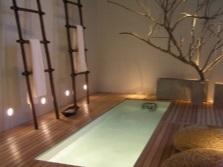 Квариловая интегрированная ванна