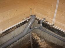 Система канализации для встраиваемой ванны