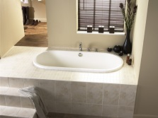 Имитация интегрированной ванны в пол