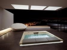 Большая интегрированная ванна