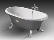 Чугунная ванна-мини