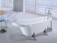 Маленькая ванна из чугуна