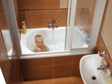 Акриловая мини-ванна