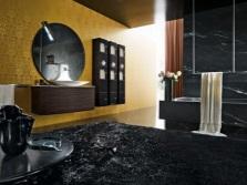 Комбинирование золота с черным цветом