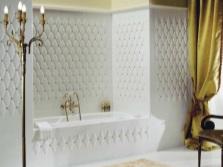 Золото в белой ванне