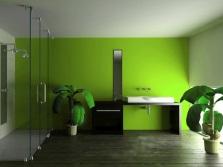 Готовый потолок в ванной комнате