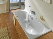 Стандартная стальная ванна