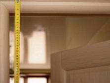 Измеряем высоту проема