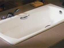 Стальная ванна прямоугольная