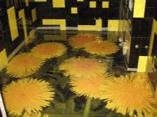 Готовый наливной пол в ванной