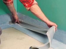 гидроизоляция пола ванной комнаты