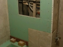 Короб для труб ванной комнаты