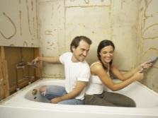 Экономия бюджета на самостоятельном ремонте ванной комнаты