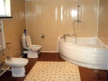 Ремонт ванной в бюджетном варианте со стенами из ПВХ панелей