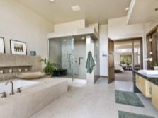 Фен-шуй ванной комнаты из мрамора