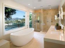 Керамическая плитка в ванной по фен-шуй