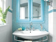 Полукруглая раковина в ванной по фен-шуй