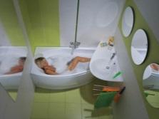 Маленькая ванная комната по фен-шуй