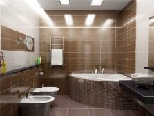 Дизайн ванной комнаты и сантехнические приборы
