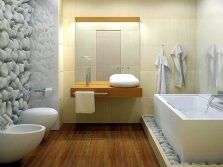 Современная ванная от дизайнера