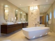 Планирование современного дизайна ванной комнаты