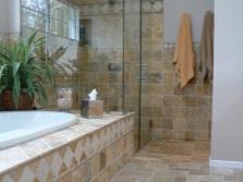 Расположений растений в ванной