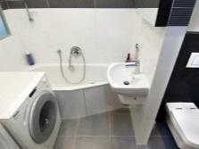 Ванная комната объединенная с туалетом