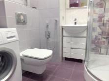 Санузел в ванной комнате
