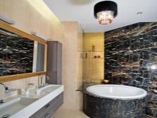 Ванна в дизайне ванной комнаты