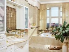 Стильная мебель в дизайне ванной комнаты