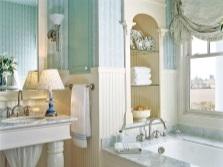 Интересная мебель в дизайне ванной комнаты
