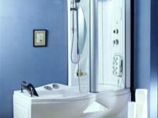 Душевая кабина с ванной Необычной формы