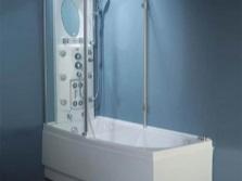 Ванна комбинированная с душем