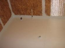 Гидроизоляция пола в ванной комнате в деревянном доме