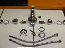 Ограничения при установке проводки к смесителю