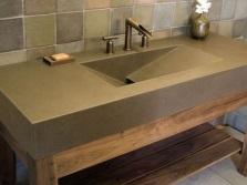 Достоинства умывальников из искусственного камня для ванной