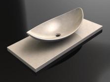 Плюсы искусственных каменных раковин в ванной