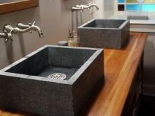 Раковины для ванной из натурального камня гранита