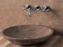 Формы раковин из натурального камня для ванной