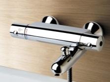 Термостатический смеситель для ванной - устройство
