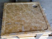 Поддон из искусственного камня для душевой кабины с гидромассажем