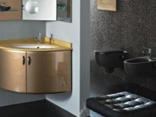 Подвесные тумбочки под раковину для ванной комнаты