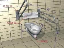 Технические условия для монтажа подвесного унитаза для инвалидов