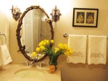 Дизайн зеркала для ванной комнаты