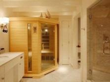 Виды инфракрасных саун для квартире
