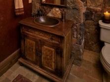 Материалы для итальянской мебели в ванную