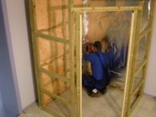 Этапы конструирования домашней сауны