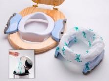 Складная модель детской накладки на унитаз